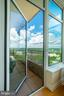 Balcony off Master Bedroom - 8220 CRESTWOOD HEIGHTS DR #1814, MCLEAN