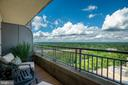 Balcony off Living Room - 8220 CRESTWOOD HEIGHTS DR #1814, MCLEAN