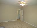 Bedroom is freshly painted - 3701 5TH ST S #401, ARLINGTON