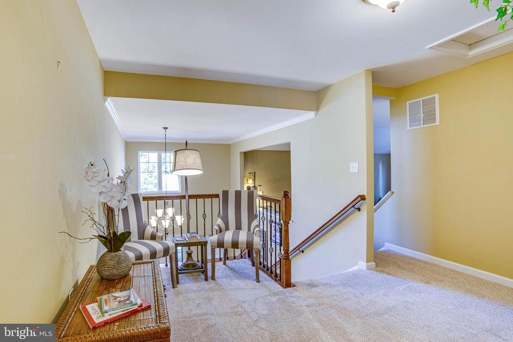 Open area at top of stairs - 52 WAGONEERS LN, STAFFORD