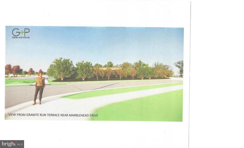 Proposed View from Granite Run Terrace - 44557 GRANITE RUN TER, ASHBURN