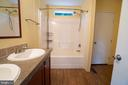 Master Bath with Double Vanity - 11080 EDGEHILL ACADEMY RD, WOODFORD