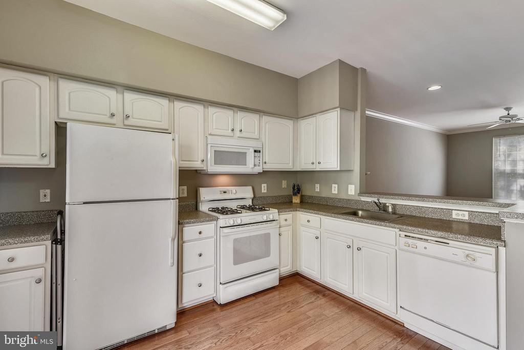 Kitchen w/ Matching Appliances - 21816 PETWORTH CT, ASHBURN