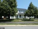 Front view from Potomac Station roadway - 43114 LLEWELLYN CT, LEESBURG