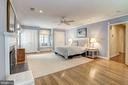 Large Bedroom #4 with two  customized closets and - 10 STANMORE CT, POTOMAC