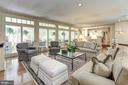 Relax in this beautiful light filled Family Room - 10 STANMORE CT, POTOMAC