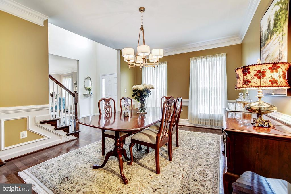 Formal dining room adjacent to kitchen - 3805 COLONIAL AVE, ALEXANDRIA