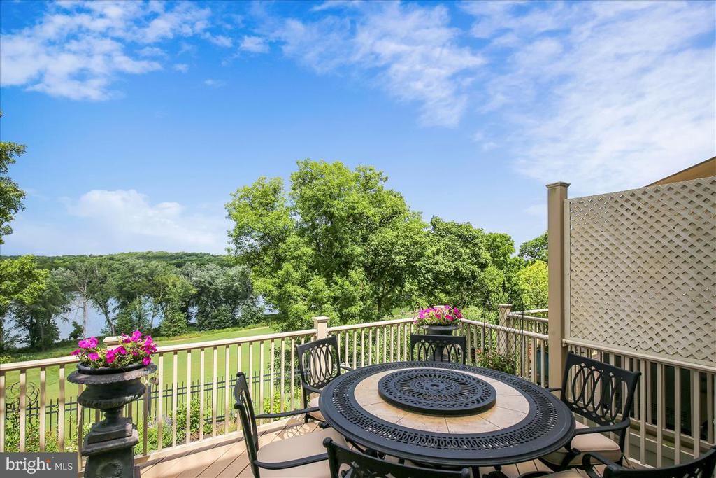 Enjoy your morning coffee and the amazing views - 18356 FAIRWAY OAKS SQ, LEESBURG