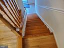 STAIRS TO LOW LEVEL - 4236 CLOUDBERRY CT, BURTONSVILLE