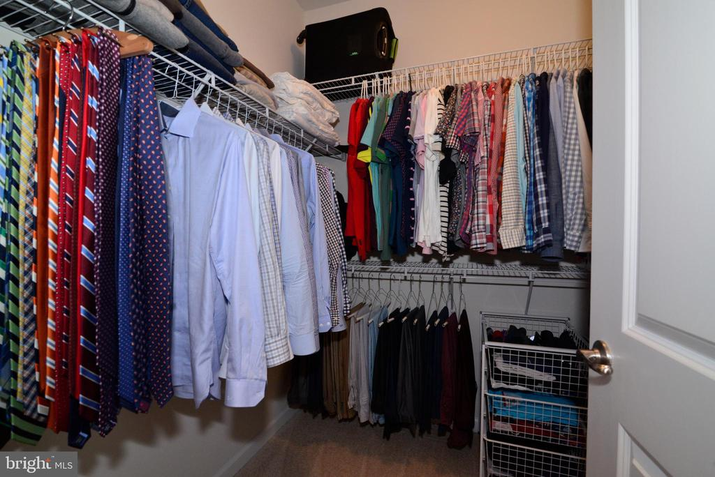 Due master closets - 24890 DAHLIA MANOR PL, ALDIE
