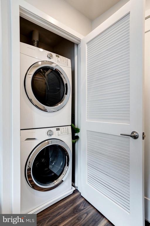 in unit washer dyer - 460 NEW YORK AVE NW #801, WASHINGTON