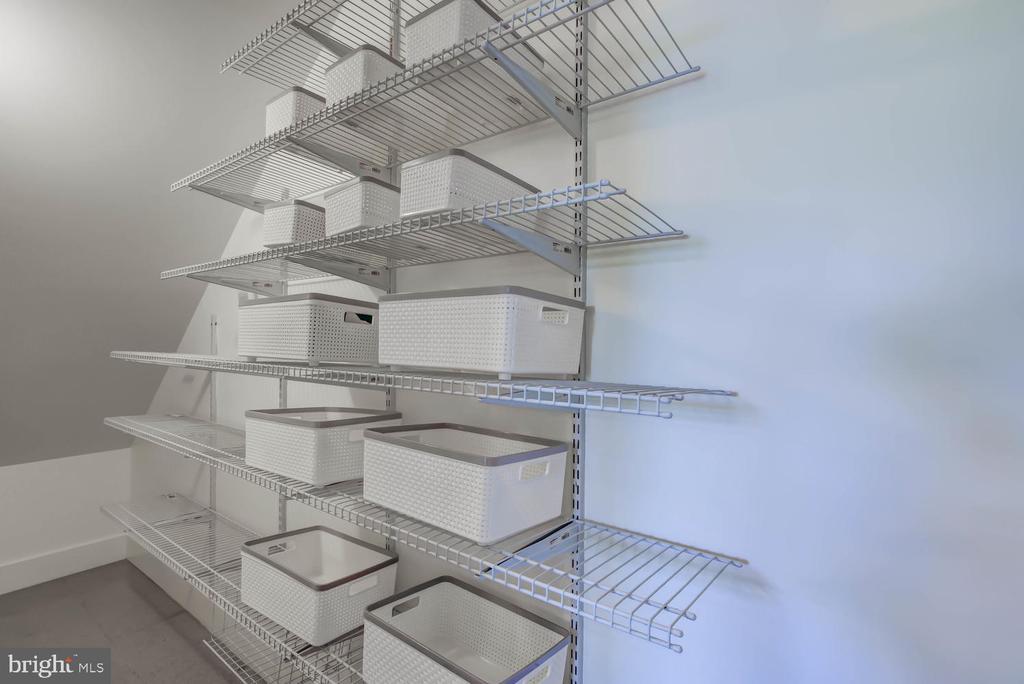 Pantry (off the kitchen) - 1341 MARYLAND AVE NE #103, WASHINGTON