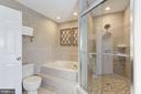 Owners Bath with Large Shower & Soaking Tub - 43451 ELMHURST CT, ASHBURN