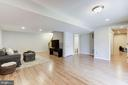 Spacious Recreation Room - 43451 ELMHURST CT, ASHBURN