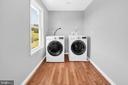 Laundry - Upper Level 23880 Aldie Dam Rd - 23880 ALDIE DAM RD, ALDIE