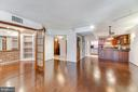 Big open layout in your living space - 1099 22ND ST NW #304, WASHINGTON