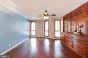 Master bedroom - 1099 22ND ST NW #304, WASHINGTON