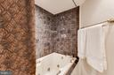 Soaking tub in Master - 1099 22ND ST NW #304, WASHINGTON