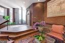 Lobby with Front Desk attendant 24 Hrs - 1099 22ND ST NW #304, WASHINGTON