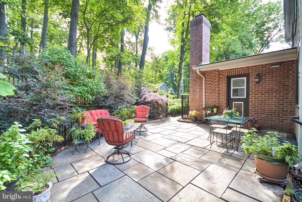 Rear flag stone patio - 10095 DUDLEY DR, IJAMSVILLE