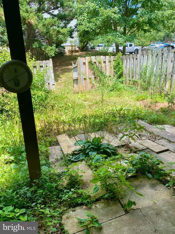 Fully Fenced Backyard - 209 ASTON CT, STAFFORD