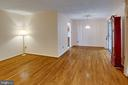 Living Room to Dining Room - 6100 THOMAS DR, SPRINGFIELD