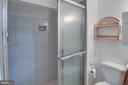 Stand Shower in Owner's bedroom - 6100 THOMAS DR, SPRINGFIELD