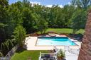 Bedroom overlook to pool - 11329 HENDERSON RD, FAIRFAX STATION