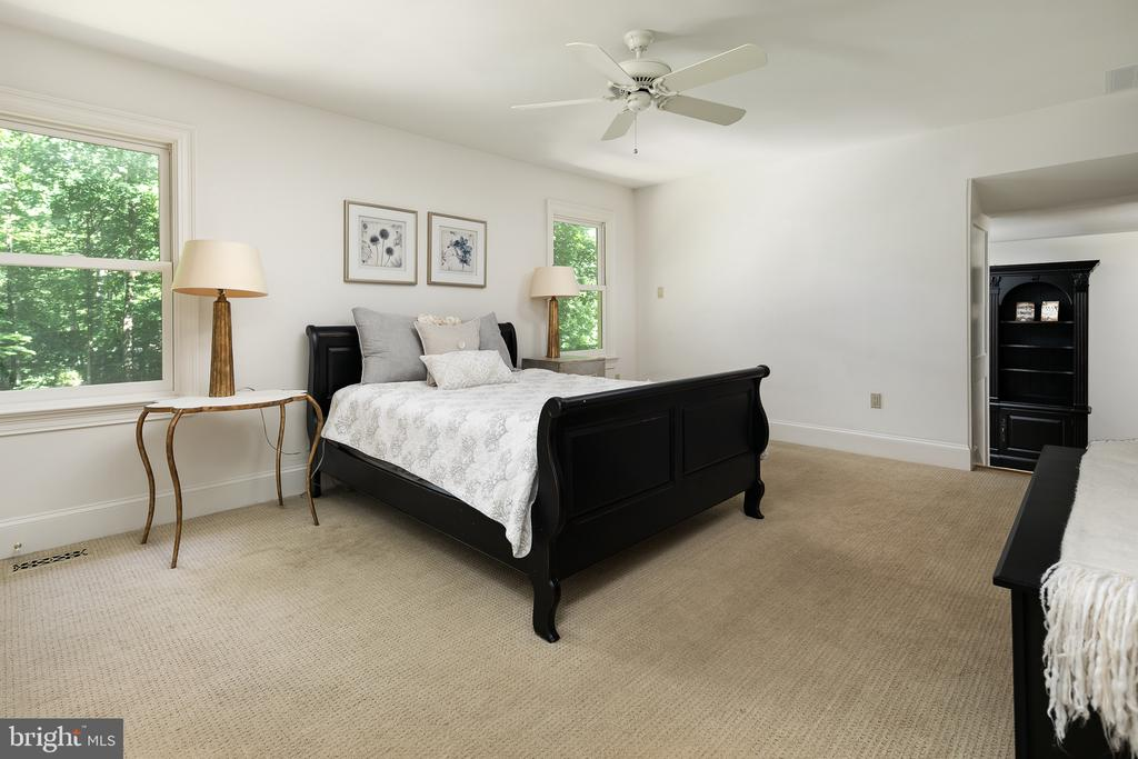 Master Bedroom Suite - 10616 CANTERBERRY RD, FAIRFAX STATION