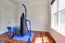 Main Level Bedroom/Office/Kids Play room - 7717 MAGARITY RD, FALLS CHURCH