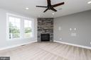 Gas Fireplace - 6851 E SHAVANO, NEW MARKET