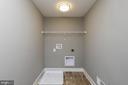 Bedroom level Laundry - 6851 E SHAVANO, NEW MARKET