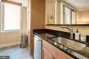 Granite countertops - 1020 N HIGHLAND ST #413, ARLINGTON