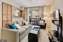 Excellent natural light - 1020 N HIGHLAND ST #413, ARLINGTON