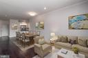 Virtually enhanced photo - 23305 MILLTOWN KNOLL SQ #112, ASHBURN