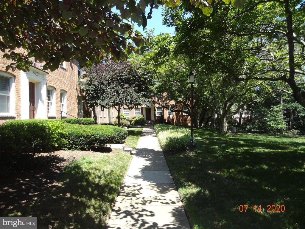 Court Yard Sidewalks and Light Posts - 2411 ARLINGTON BLVD #201, ARLINGTON