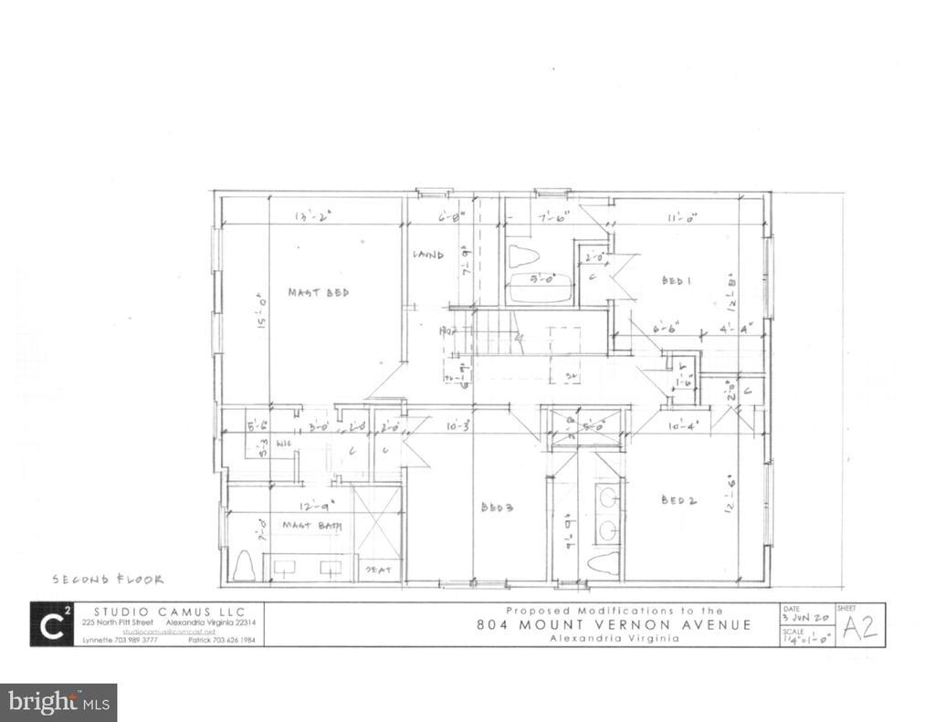 Luxury master suite w bath, 3  bdrms & 2 baths - 804 MOUNT VERNON AVE, ALEXANDRIA