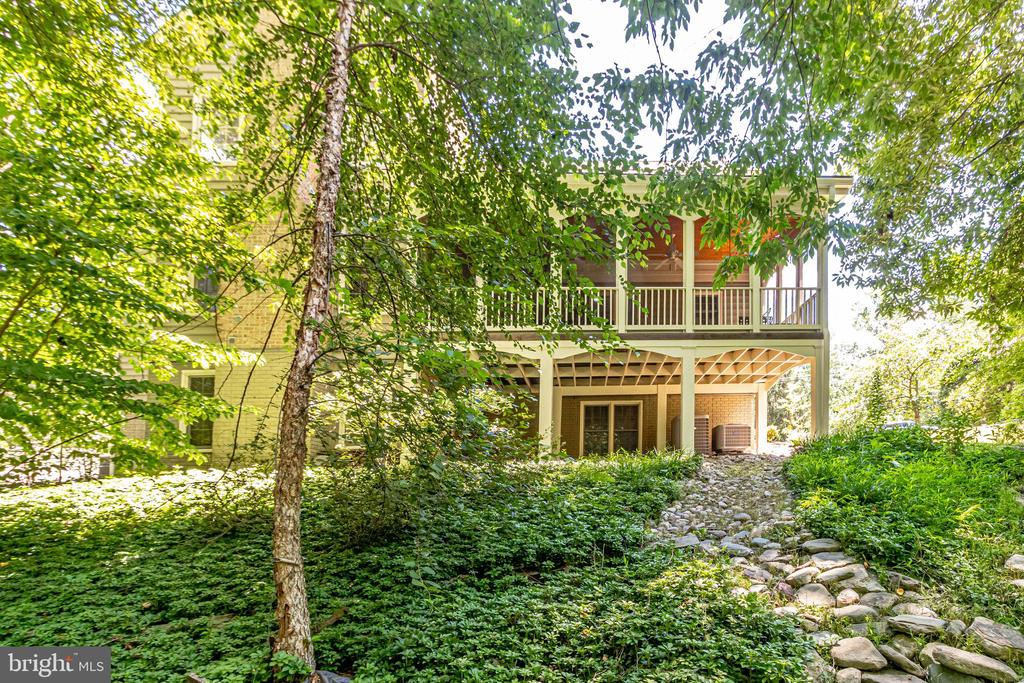 Situated on a private 1/2 acre wooded  lot - 3720 SPICEWOOD DR, ANNANDALE