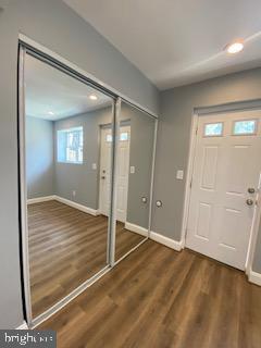 Basement BDR/Office view 2 w/walkout - 837 OGLETHORPE ST NE, WASHINGTON
