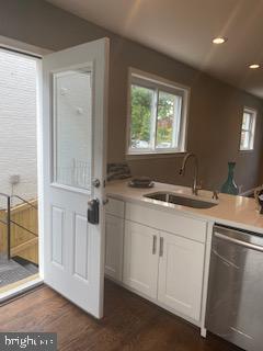 Kitchen - 837 OGLETHORPE ST NE, WASHINGTON