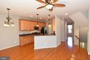 Kitchen View -2 - 11872 BENTON LAKE RD, BRISTOW