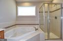 Primary Luxury Bath View 2 - 11872 BENTON LAKE RD, BRISTOW