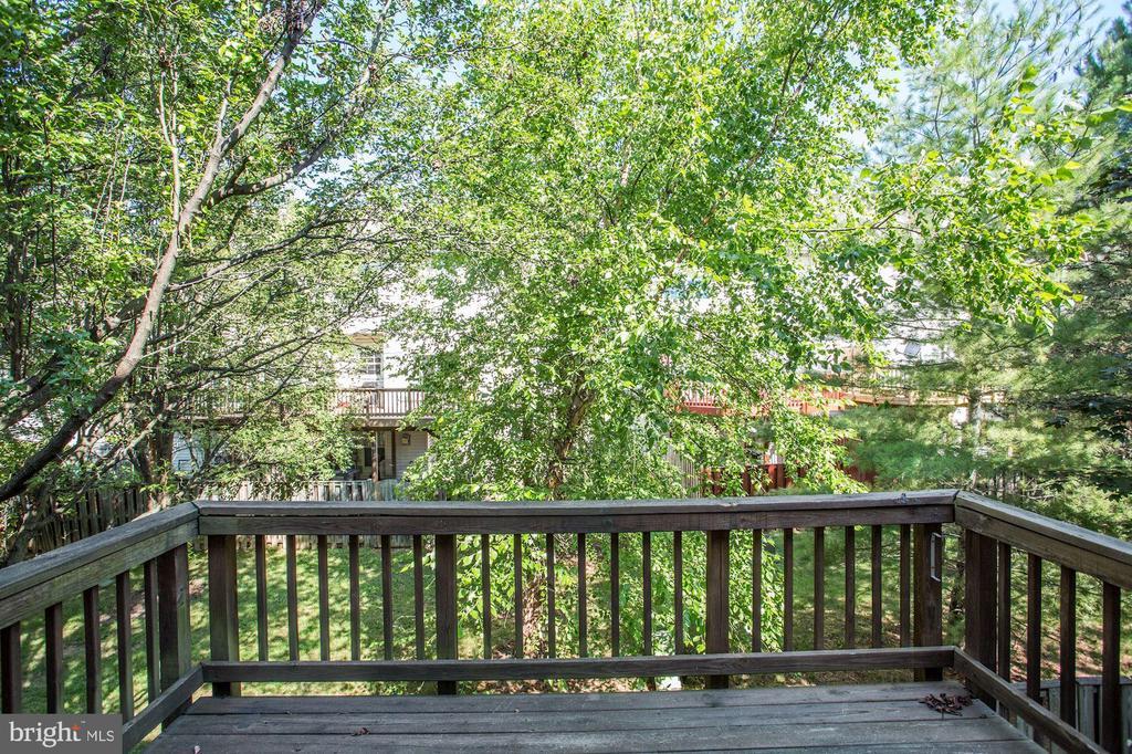 View from deck - 2504 CLOVER FIELD CIR, HERNDON