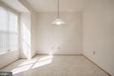 Breakfast room - 2504 CLOVER FIELD CIR, HERNDON