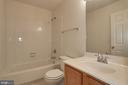 Hall Bath - 2504 CLOVER FIELD CIR, HERNDON