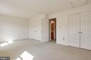 Bedroom 2 - 2504 CLOVER FIELD CIR, HERNDON