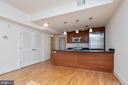 alternate view of kitchen - 1830 JEFFERSON PL NW #14, WASHINGTON