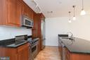 Your first view of the gourmet kitchen - 1830 JEFFERSON PL NW #14, WASHINGTON