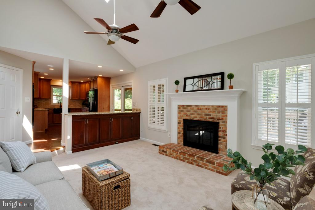 Family room - 3619 ELDERBERRY PL, FAIRFAX