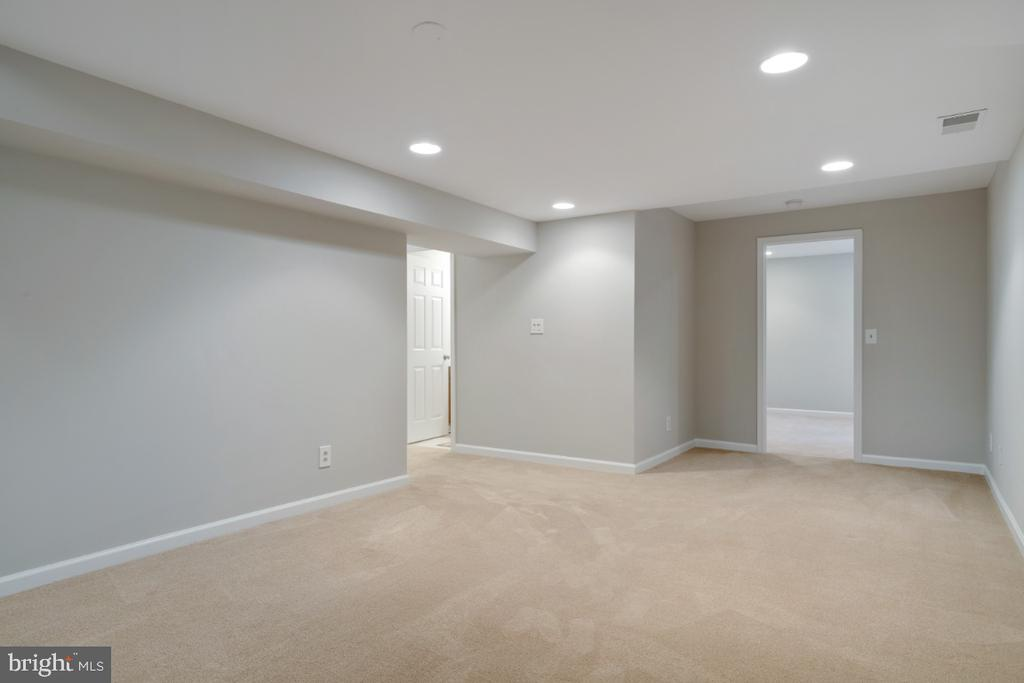 Large basement - 3619 ELDERBERRY PL, FAIRFAX